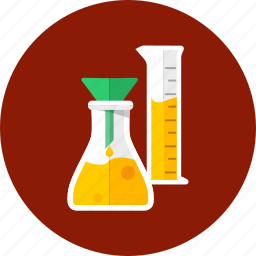 analysis, drug, flask, glassware, laboratory, reaction, science icon