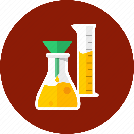 analysis, drug, flask, glassware, laboratory, reaction, science icon