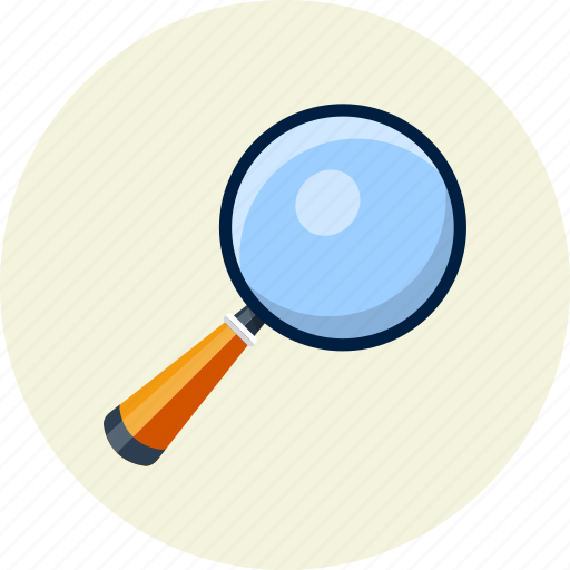 find, lens, loupe, magnifier, optimization, zoom icon