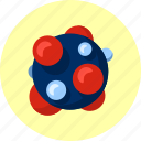 ameoba, biology, electron, gene, molecule, reproduction, structure icon