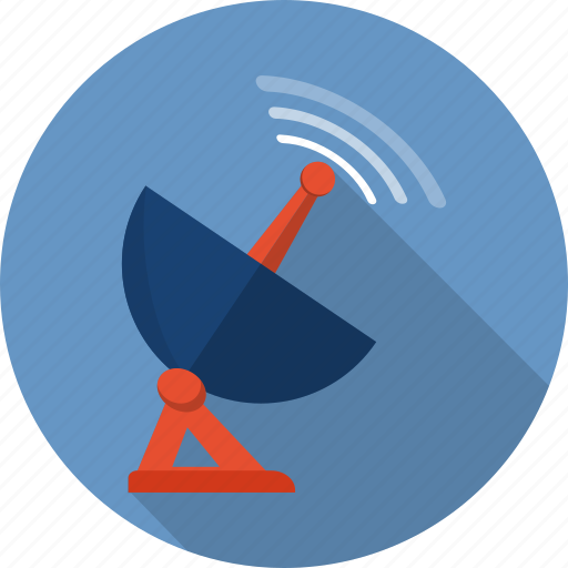 Radar, station, antenna, media, broadcasting, frequency, tower icon