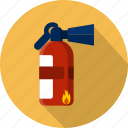 danger, emergency, extinguisher, extinguishing, foam, help, protection icon