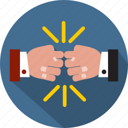 attire, business, gesture, hand, job, partnership, teamwork icon