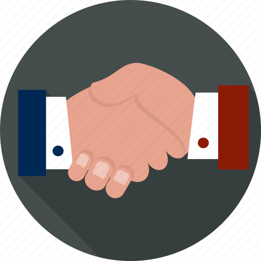 agreement, congratulating, employment, friendship, greeting, handshake, partnership icon