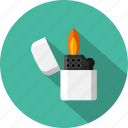 burn, cigar-lighter, flame, flammable, lighter, smoking, tobacco icon