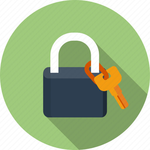 access, equipment, key, padlock, protection, safe, security icon