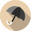 forecast, meteorology, protection, rain, safety, umbrella, weather icon
