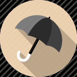forecast, meteorology, protection, rain, safety, umbrella, weather icon