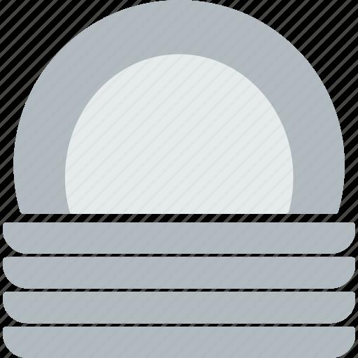 cooking, dinner, kitchen, plates, restaurant, serve icon