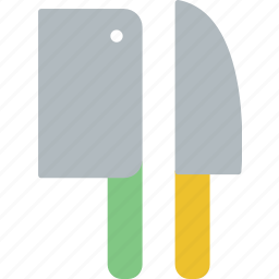 cleaver, cooking, dinner, eating, kitchen, knife, restaurant icon