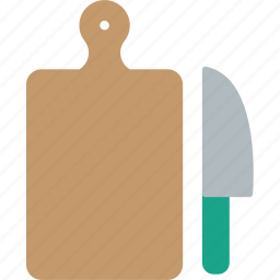 board, cook, cut, kitchen, knife, restaurant, tool icon