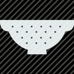 colander, cook, dinner, kitchen, utensil icon