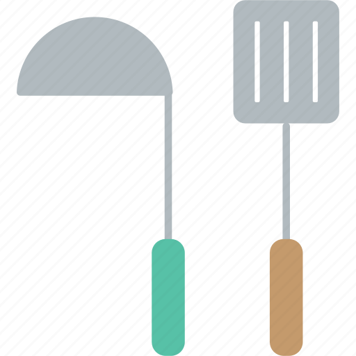 cook, cooking, kitchen, ladle, restaurant, turner icon
