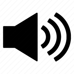 max, volume icon