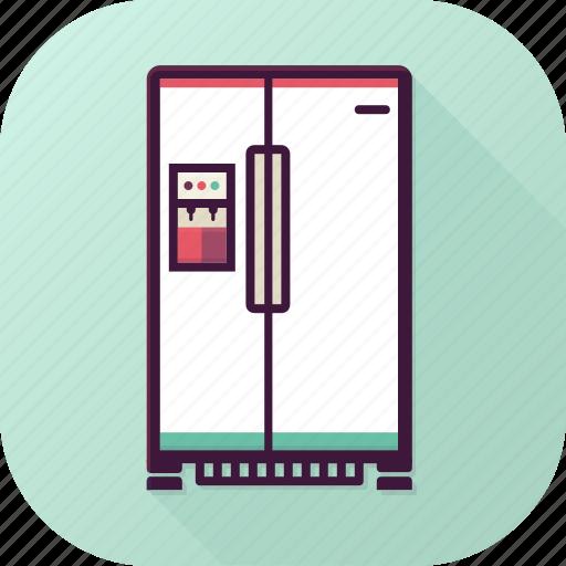 cold, food, fridge, kitchen, refrigerator, storage icon