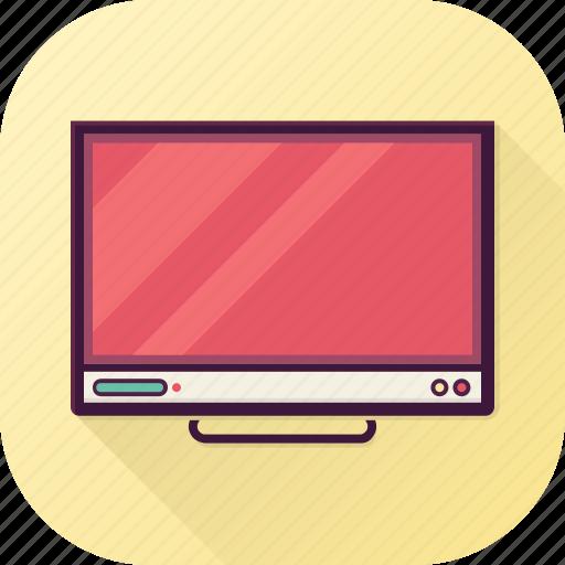 entertainment, media, screen, smart tv, tv icon