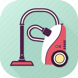 appliance, cleaner, dust, floor, home, vacuum icon
