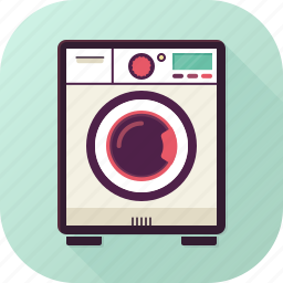 appliance, clean, clothes, laundry, washingmachine icon