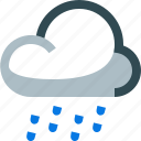 weather, drizzling, cloudy, rain, drizzle
