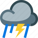 weather, thunderstorm, thunder, storm, lightning