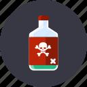 attention, danger, dead, kill, poison, skull, toxic