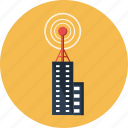antenna, broadcasting, communication, rendered, telecommunication, tower, transmission icon