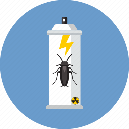 acarus, aerosol, bug, can, disinfection, insecticide, spray icon