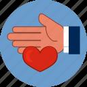 heart, love, help, family, human, hand, protection