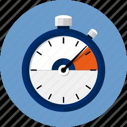 chronometer, clock, countdown, hours, speed, sport, stopwatch icon
