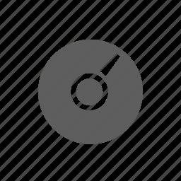 disc, memory icon