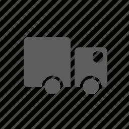 tir, transport icon