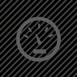 timer, velocity icon