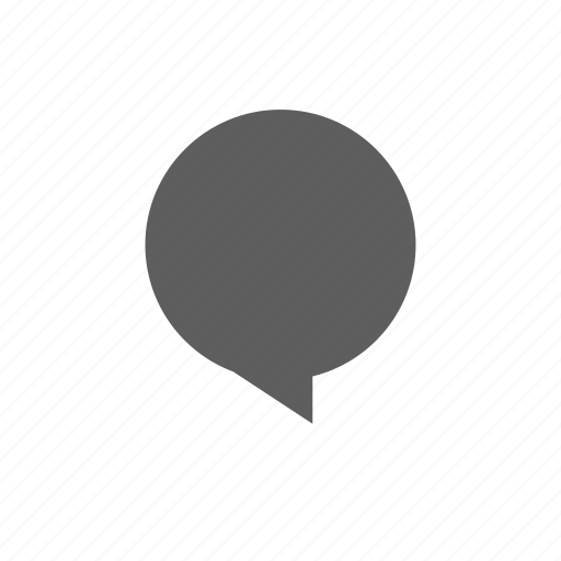 balloon, circle icon