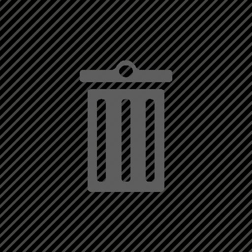 bin, cancel, delete icon