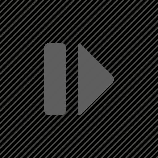 music, pausa, sound, stop icon