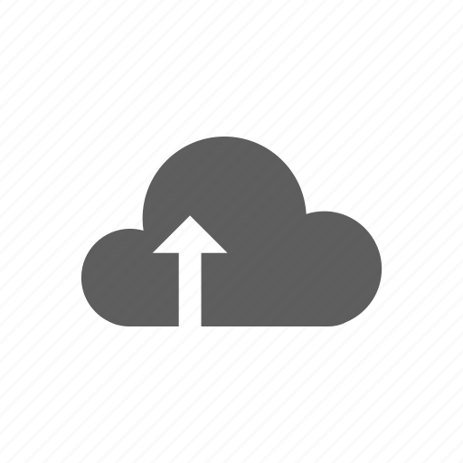 cloud, load, up, upload icon