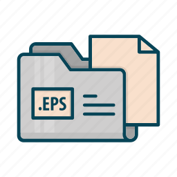 directory, document, eps, extension, files, folder icon