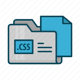 css, directory, document, extension, files, folder icon