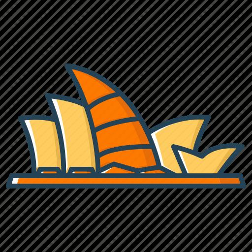 asiapacific, landmark, sydney, sydneyoperahous icon