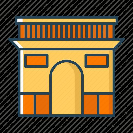 archaeological sites, france, landmarks, paris icon