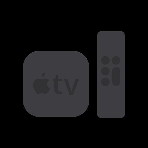 apple, atv, control, device, remote, television, tv icon
