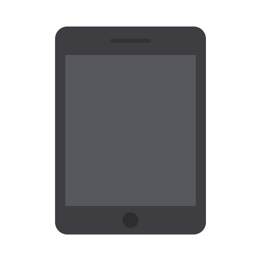 apple, device, ios, ipad, tablet, technology, touch icon
