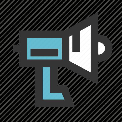 business, finance, promote, sound, speaker icon