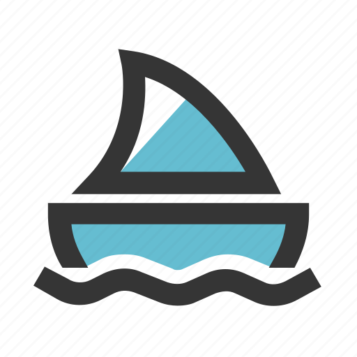boat, holiday, ship, transportation, travel, vacation icon