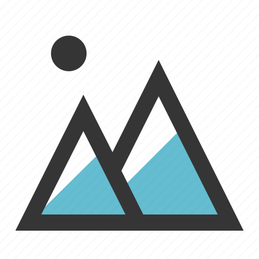 hill, holiday, mount, mountain, travel, vacation icon