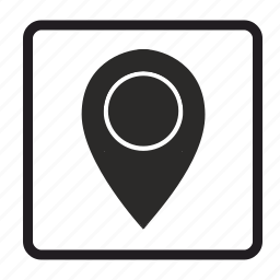 arrow, flag, geo, geopoint, gps, location, map, navigate, navigation, pointer icon