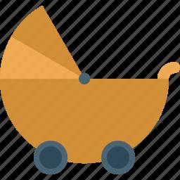 baby, child, children, infant, newborn, stroller icon