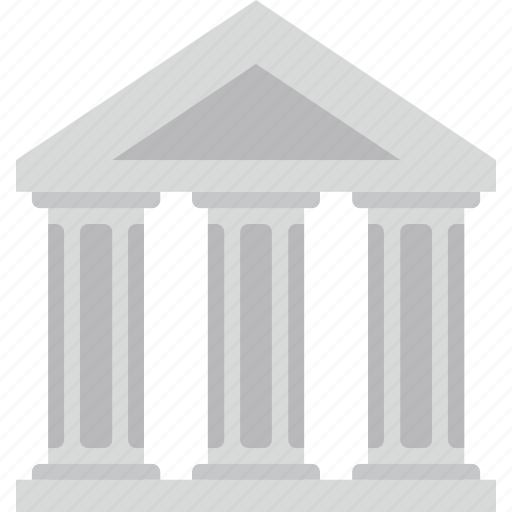 bank, banking, business, court, finance, money icon