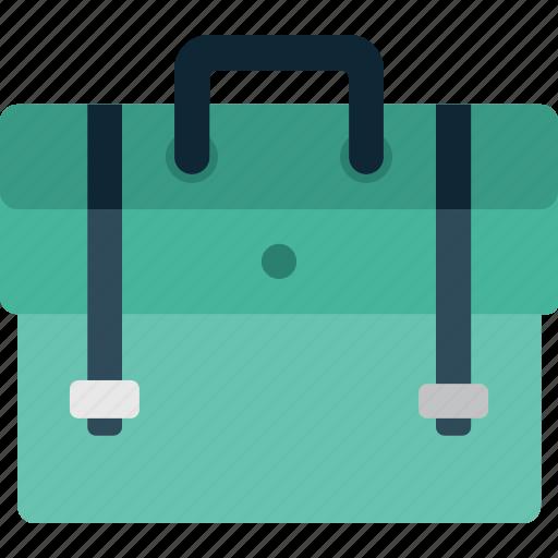 bag, briefcase, business, case, finance, money icon