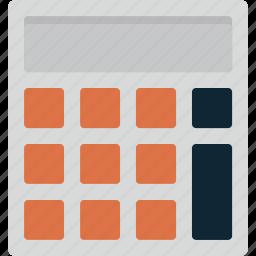 calc, calculate, calculator, education, learning, math, school icon